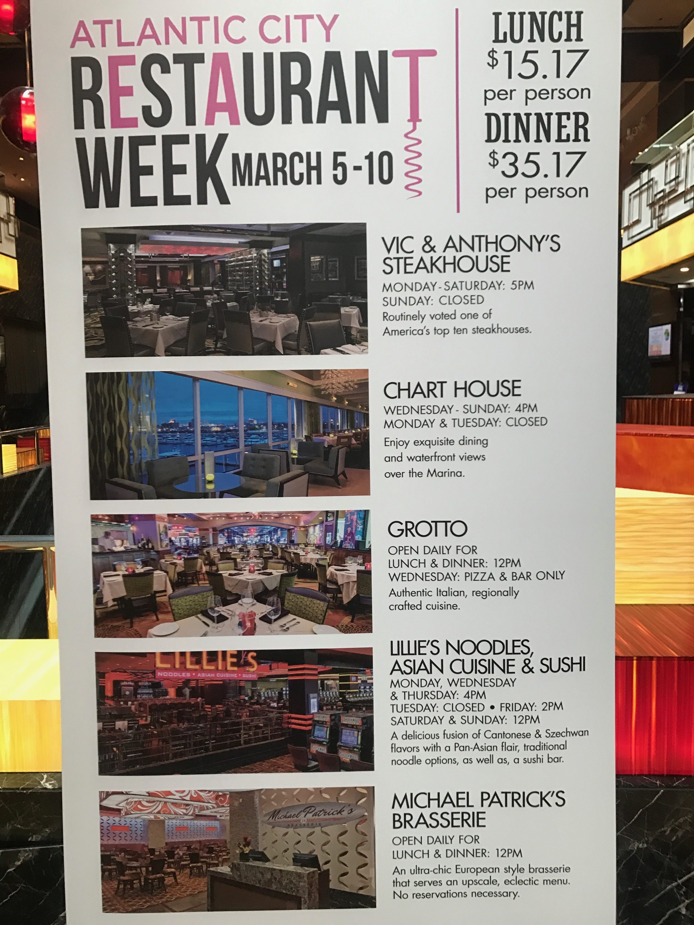 atlantic city restaurant week march 5-10, 2017 – my town gurus